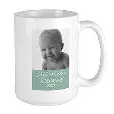 Add Baby Photo Mint Mugs