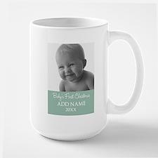 Add Baby Photo Mint Mugs