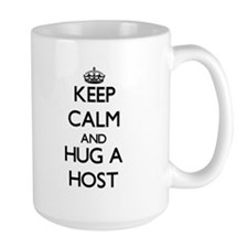 Keep Calm and Hug a Host Mugs