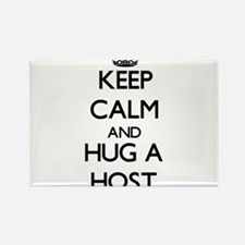 Keep Calm and Hug a Host Magnets
