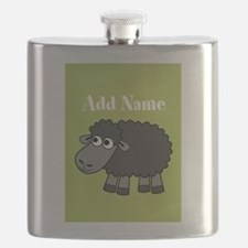 Black Sheep Add Name Lime Flask