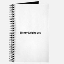 Silently judging you / Gym humor Journal