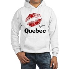 kisses from quebec Hoodie
