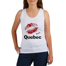 kisses from quebec Women's Tank Top
