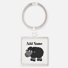 Black Sheep Add Name Keychains