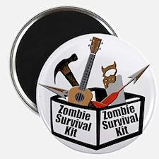 Zombie Ukulele Kit Magnet
