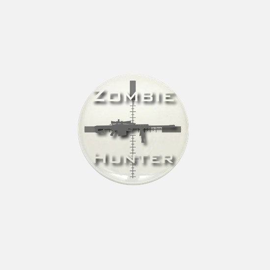 Zombie Hunter Mini Button