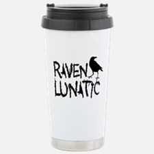 Raven Lunatic - Halloween Travel Mug