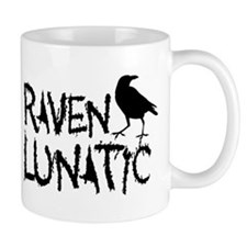 Raven Lunatic - Halloween Small Mugs