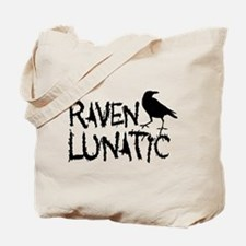 Raven Lunatic - Halloween Tote Bag