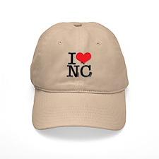 I Love Naughty-Chicks Baseball Cap