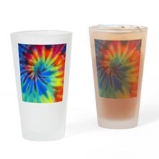 Tie-Dye Drinking Glass