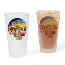 X Music 2 - Orange Tabby cat 46 Drinking Glass