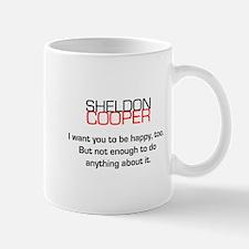 Sheldon Cooper's Happiness Quote Mug