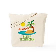 Retired Sleep Sleep Technician Tote Bag