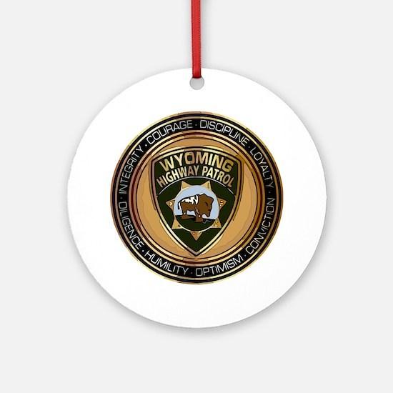 Wyoming HP logo Round Ornament