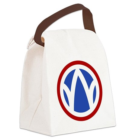 89th Infantry Division Canvas Lunch Bag
