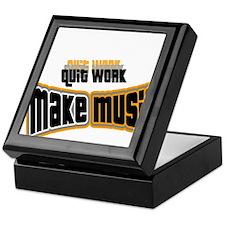 Make Music Keepsake Box