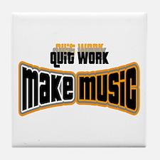 Make Music Tile Coaster