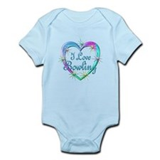 I Love Bowling Infant Bodysuit