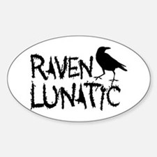 Raven Lunatic - Halloween Decal