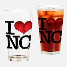 I Love Naked-Chicks Drinking Glass
