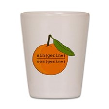 Tangerine Shot Glass