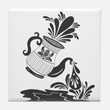 Coffee Spill Tile Coaster