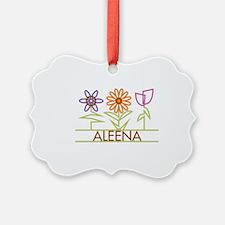 ALEENA-cute-flowers Ornament