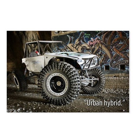 Urban Hybrid Postcards (Package of 8)