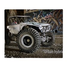 Urban Hybrid Throw Blanket