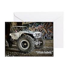 Urban Hybrid Greeting Card