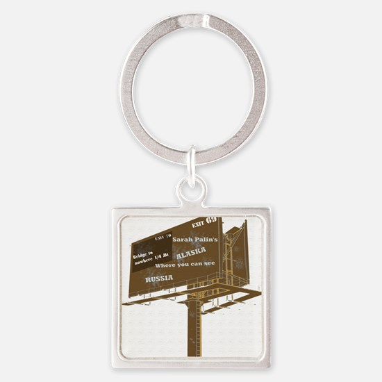wwithout background Square Keychain
