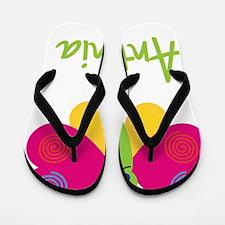 Antonia-the-butterfly Flip Flops
