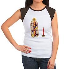 Christmas_hotdog Women's Cap Sleeve T-Shirt