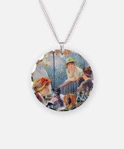 Renoir Boating Pillow Necklace