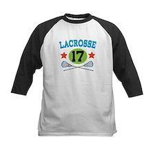 Lacrosse Player Number 17 Tee
