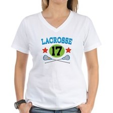 Lacrosse Player Number 17 Shirt