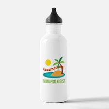 Retired Immunologist Water Bottle