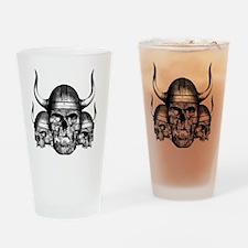 vikingskulls Drinking Glass