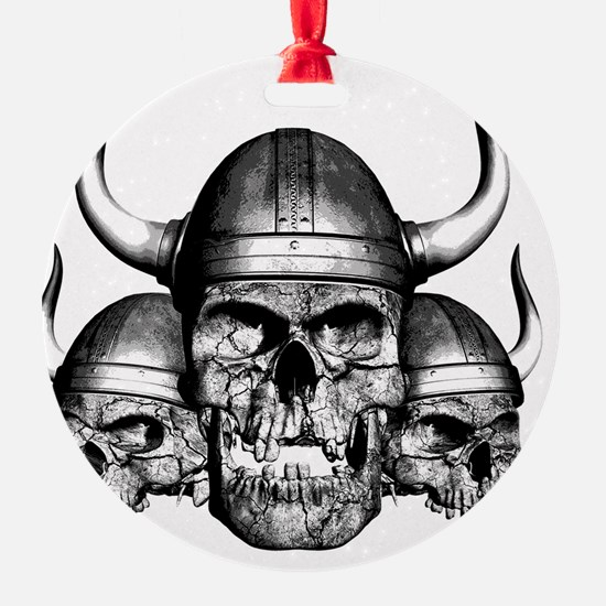 vikingskulls Ornament