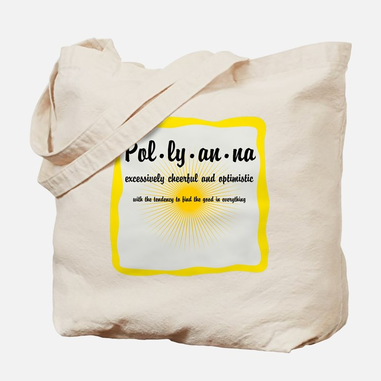 Pollyanna Definition Tote Bag