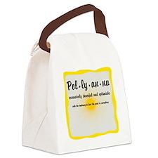 Pollyanna Definition Canvas Lunch Bag