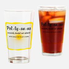 Pollyanna Definition Drinking Glass