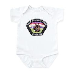 Santa Ana Tribal PD K9 Infant Bodysuit