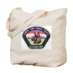 Santa Ana Tribal PD K9 Tote Bag