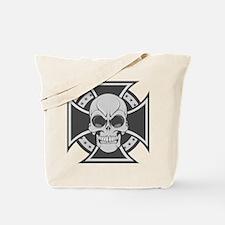 Biker Cross Tote Bag