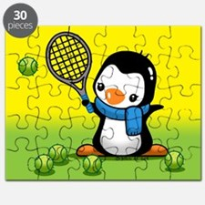 Tennis Penguin Puzzle