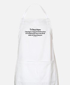 The Pledge of Allegiance BBQ Apron
