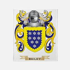 Bailey Coat of Arms Throw Blanket